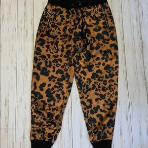 Bebe Animal Print Pants Size s
